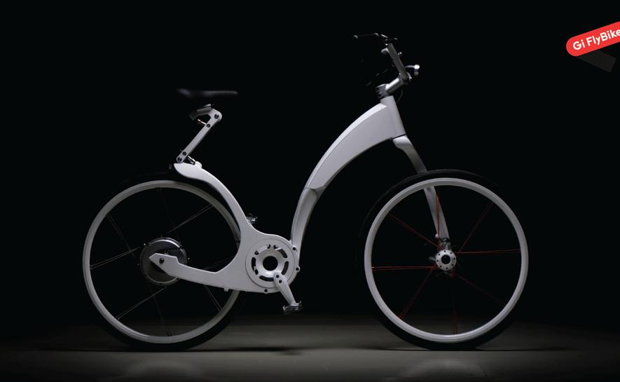"Gi FlyBike: Το Ηλεκτρικό Ποδήλατο που Διπλώνει σε 1"""