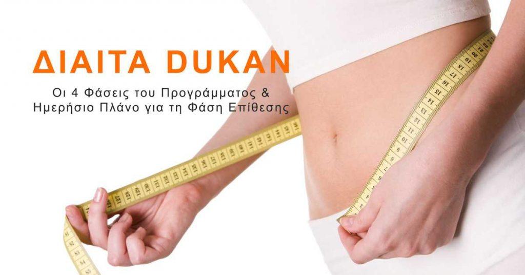 Δίαιτα Dukan – Οι 4 Φάσεις & Πρόγραμμα Ημέρας για τη Φάση Επίθεσης