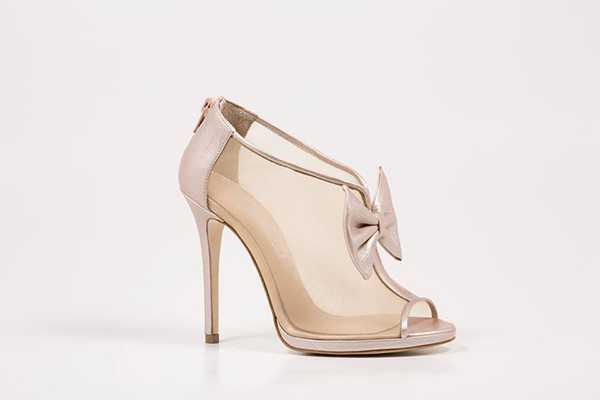 Νυφικά παπούτσια από το Sideris Shoes