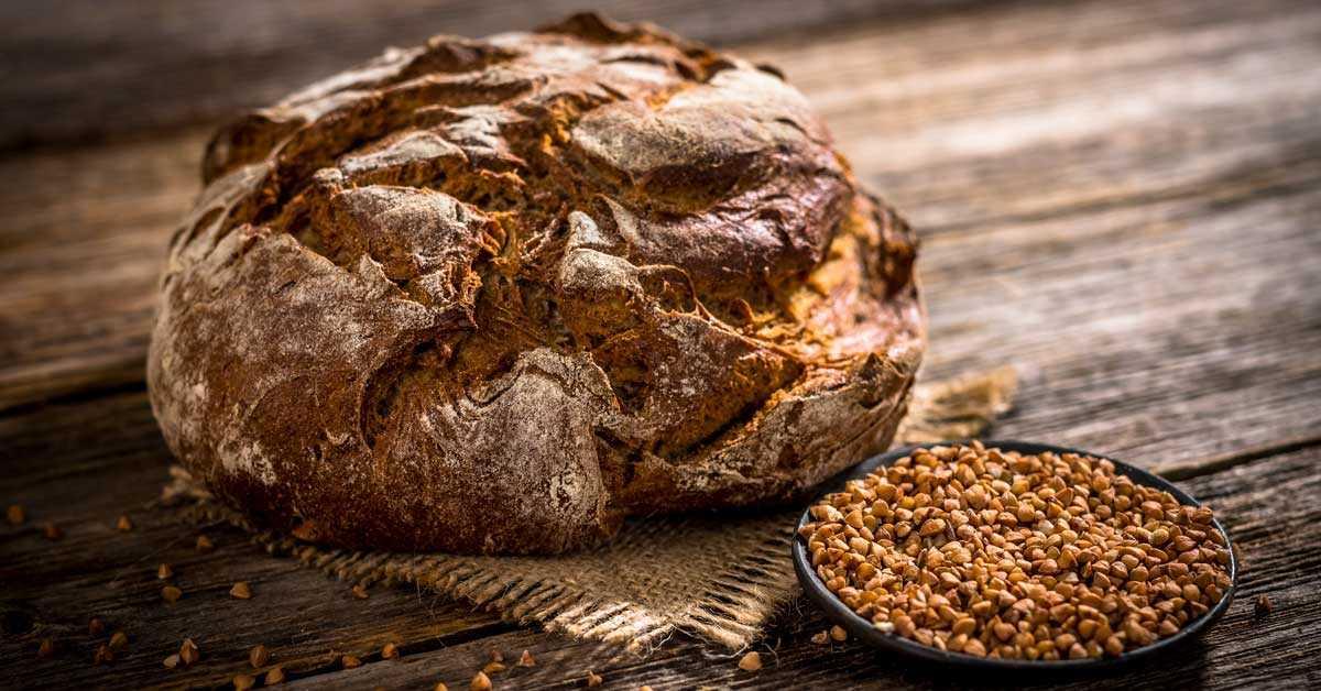 Ψωμί με φαγόπυρο και σπόρους τσία