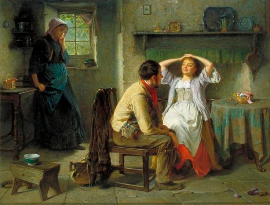 Haynes King, Jealousy and Flirtation, 1874