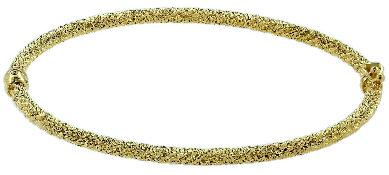Βραχιόλι Χειροπέδα από Χρυσό Κ14 (45887)