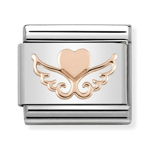 Link Nomination Heart With Wings