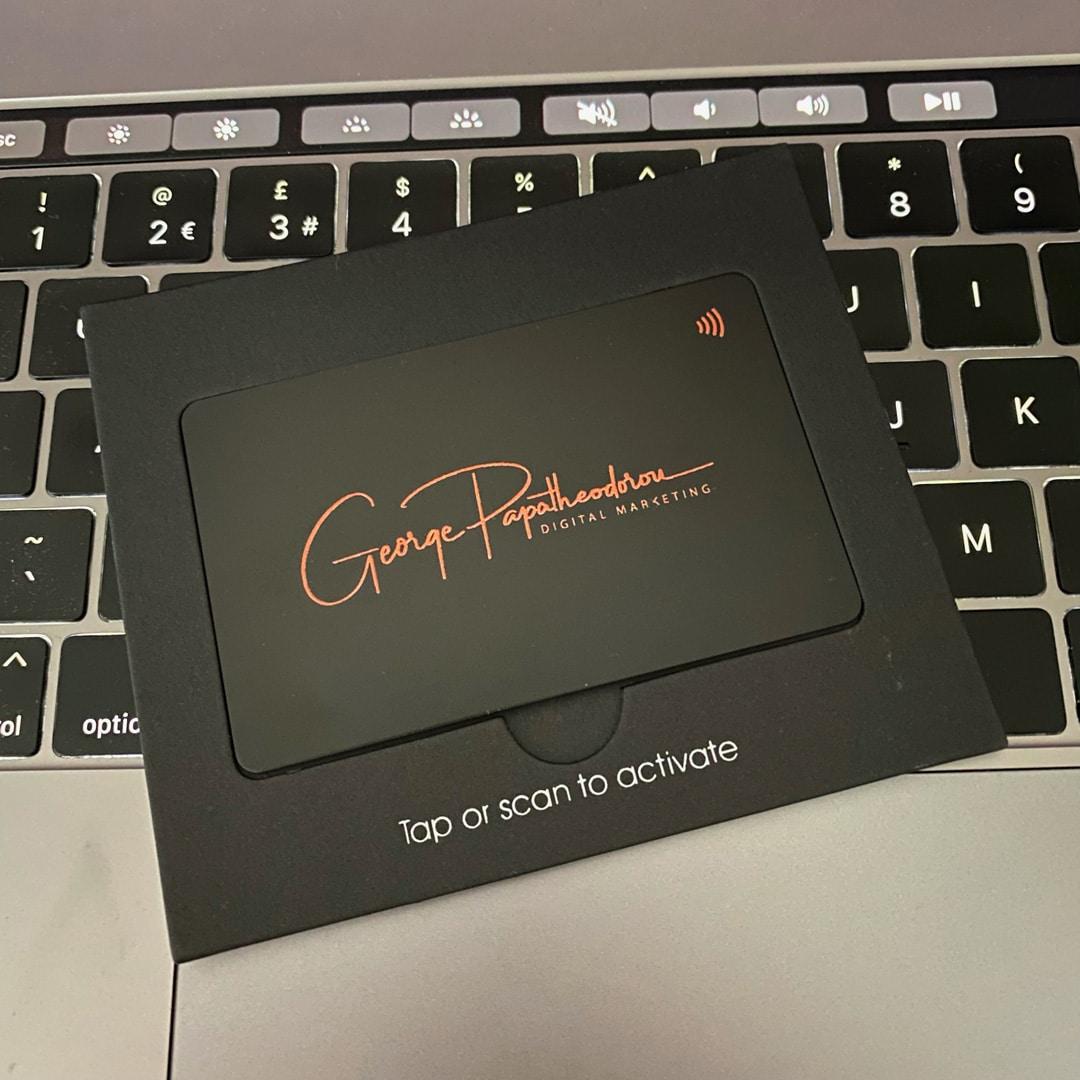 V1CE NFC BUSINESS CARD: Η Τελευταία Επαγγελματική Κάρτα που θα Χρειαστείτε